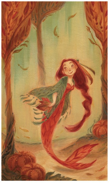 Casey-Robin-illustration-Autumn-Mermaid
