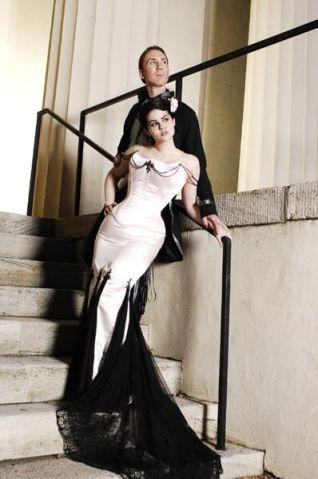 goth-wedding