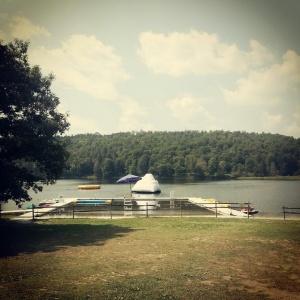 the lake at sleepaway camp, 20 yrs later