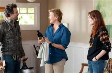 "Mark Ruffalo, Annette Bening and Julianne Moore star in a scene from Lisa Cholodenko's ""The Kids Are All Right"""