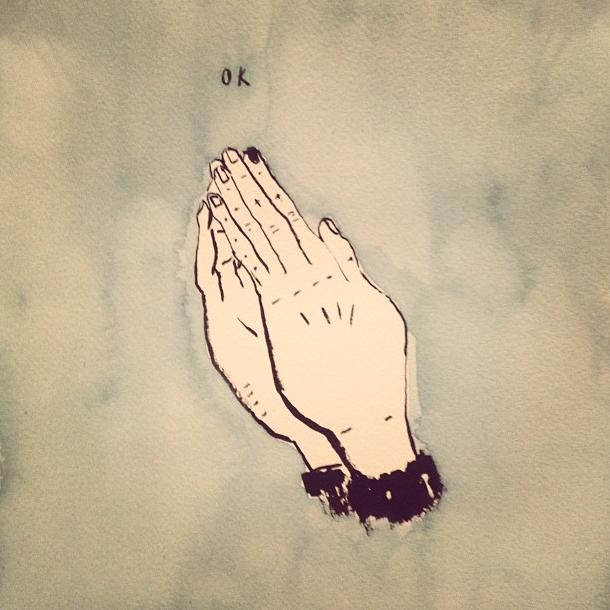 """Praying Hands"""