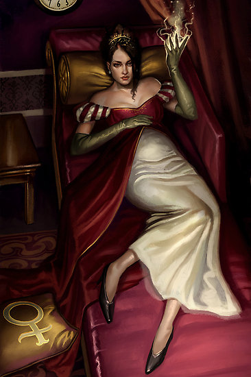 the-empress-steampunk-tarot-aly-fell-tarot reading