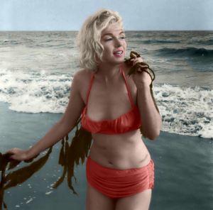 Marilyn Monroe Ocean Bunny