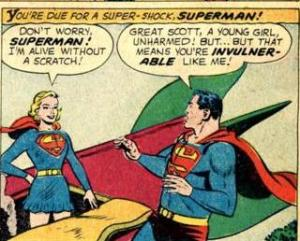 Super Girl Is Always Unscathed