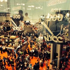 NY COMIC CON: Day 3 Comic Con: Lines, Panels, andAnime