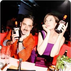 Kyle Ford & Elettra Wiedemann avec le Cointreau Rickey