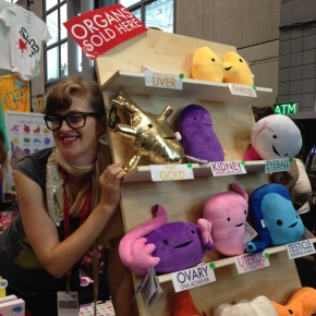 Wendy Bryan Of I Heart Guts Spills Her Guts With Us At New York Comic Con