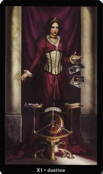 steampunk-tarot-justice-barbara-moore-luna-luna