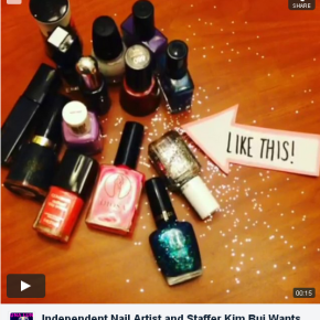 VIDEO: Nail Artist & LUNA LUNA Staffer Kim Bui Wants Your Donations!