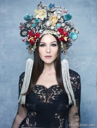 Yes again, Monica Bellucci, Luna Luna's resident goddess
