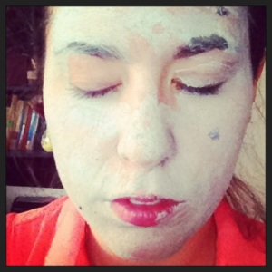 GLAMGLOW: The muddy bits stick to your skin, causing a sort of facial paralysis (in a good way).