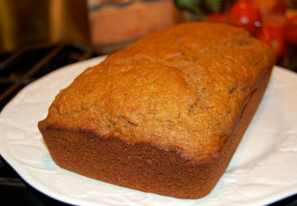 Pumpkin Bread Quickie