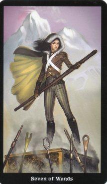 7-of-wands-steampunk-tarot
