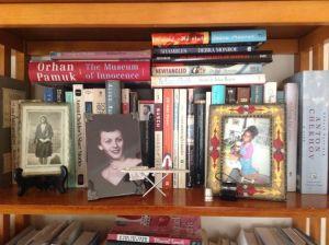 debra bookshelf