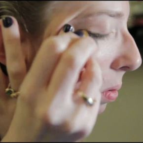 VIDEO: Create a Sexy, Smokey Eye With Almonds  — And Elbow Grease