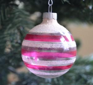 flocked-striped-christmas-shiny-brite-ornament