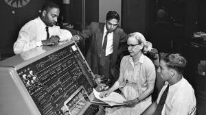 Legendary computer scientist, Grace Hopper, inventor or COBOL and FORTRAN languages.