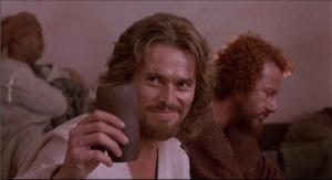 jesus drinking