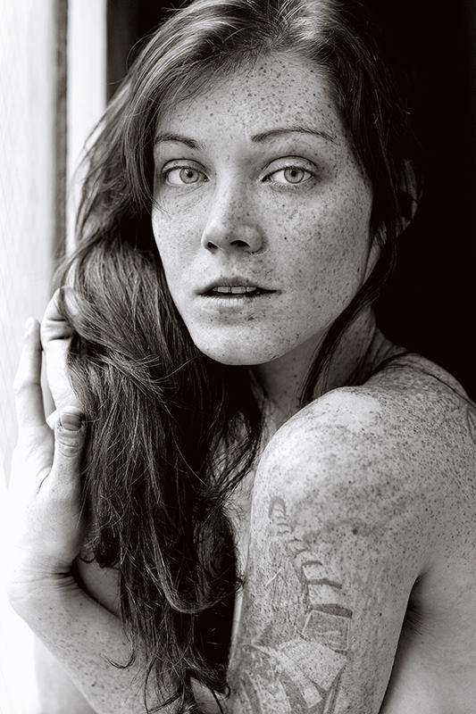 Sarah Gerard, captured by Tam Nguyen.