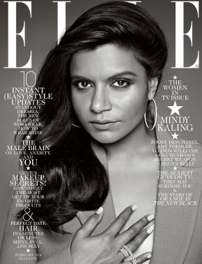 """Mindy Kaling Loves Her New <i>Elle</i> Cover, So Why ShouldN'T We?"