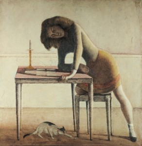 Balthus, Game of Patience, 1954